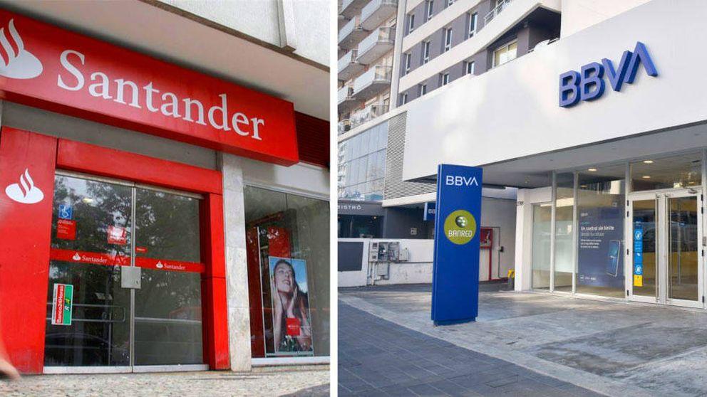 Santander y BBVA dan por perdidos 5.800 M por demandas e inspecciones