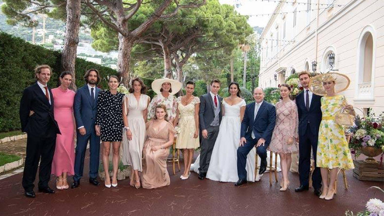 Louise, Marie y familia. (Palacio de Mónaco)