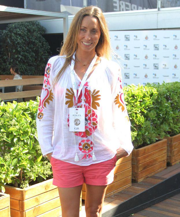 Foto: Gemma, en el torneo Conde de Godó. (Gtres)