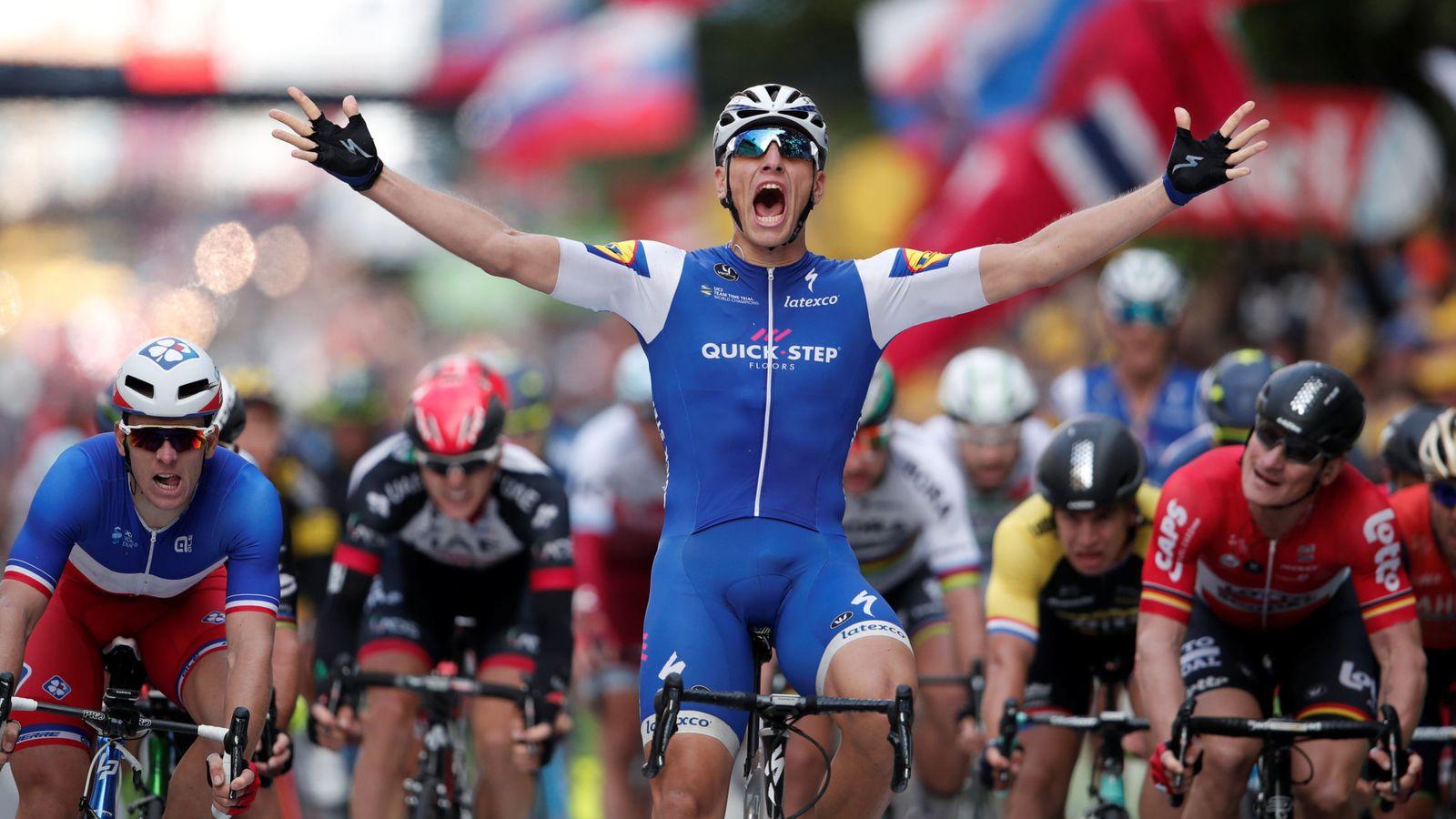 Foto: Kittel estrenó los sprints del Tour. (Reuters)