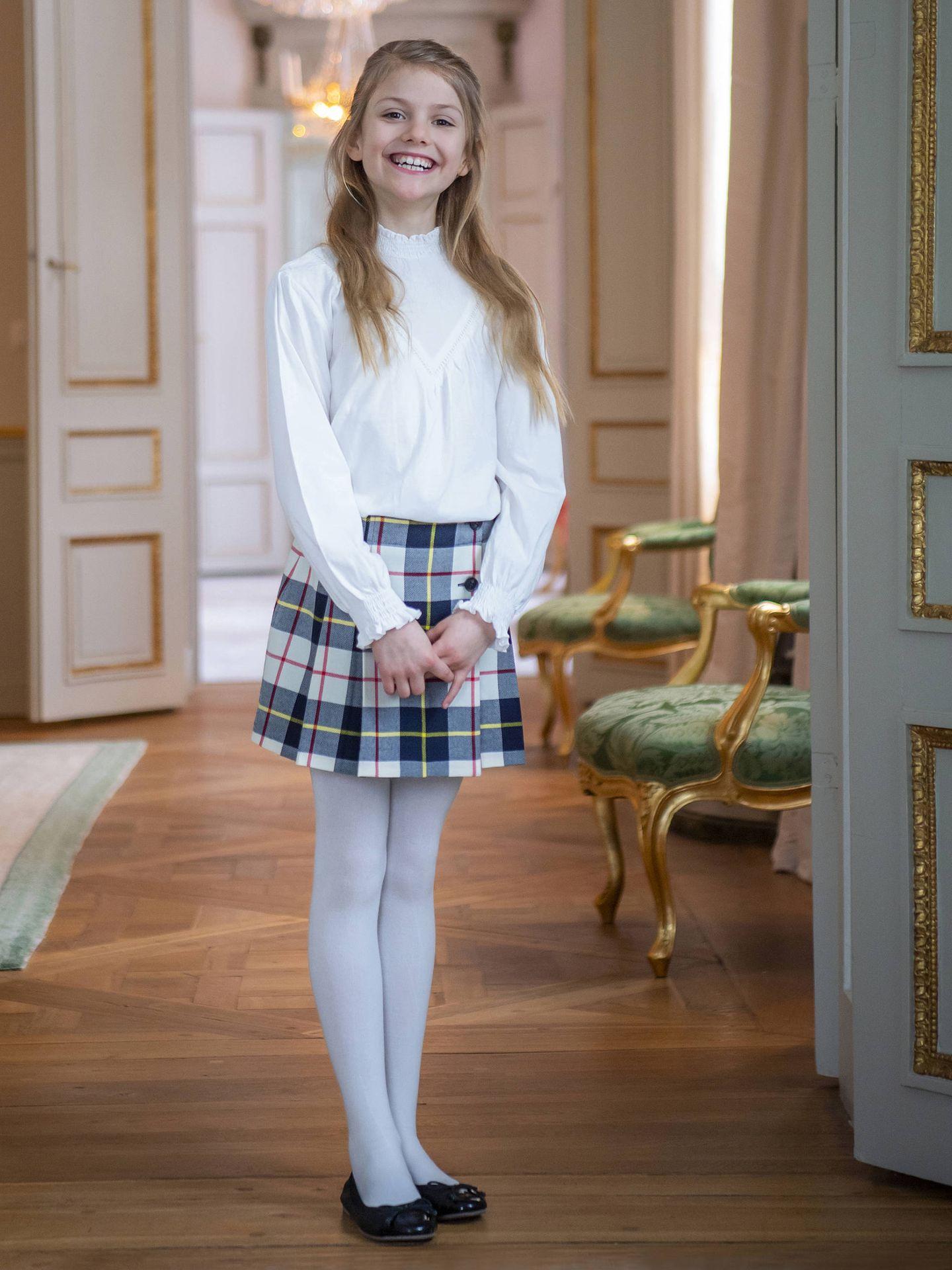La princesa Estelle. (Kungahuset)