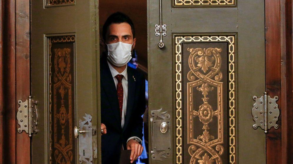 Foto: El presidente del Parlament. (EFE)