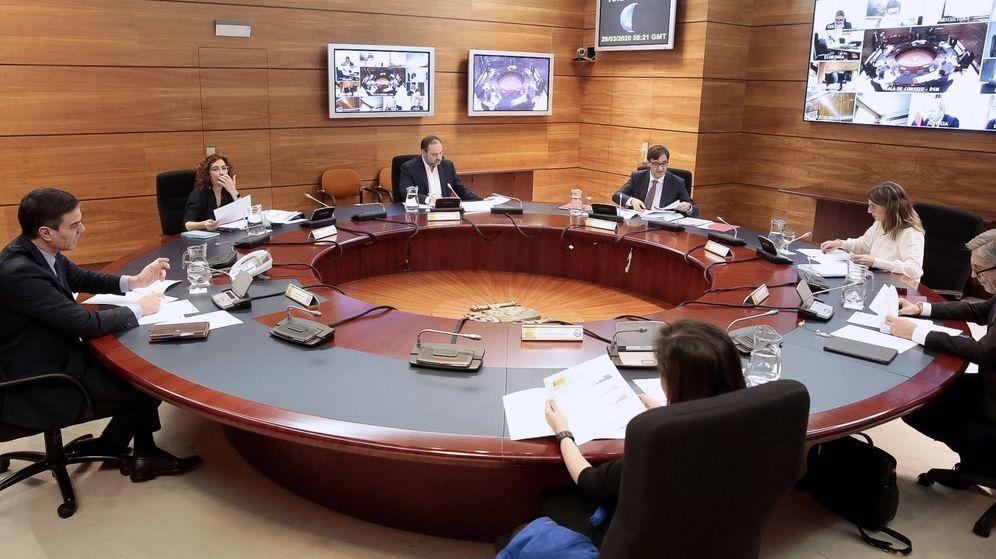 Foto: Consejo de Ministros extraordinario.
