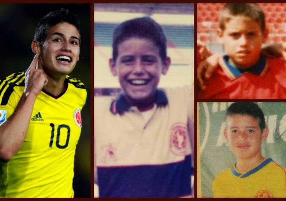 Foto: La Academia Tolimense de Fútbol fue la cuna futbolística de James Rodríguez (FOTOS: https://www.facebook.com/AcademiaTolimensedeFutbol)