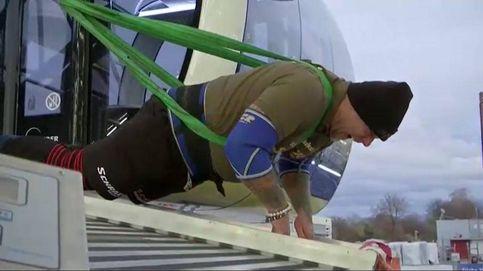 Este austriaco mueve una noria de 80 metros de altura y 1.500 toneladas