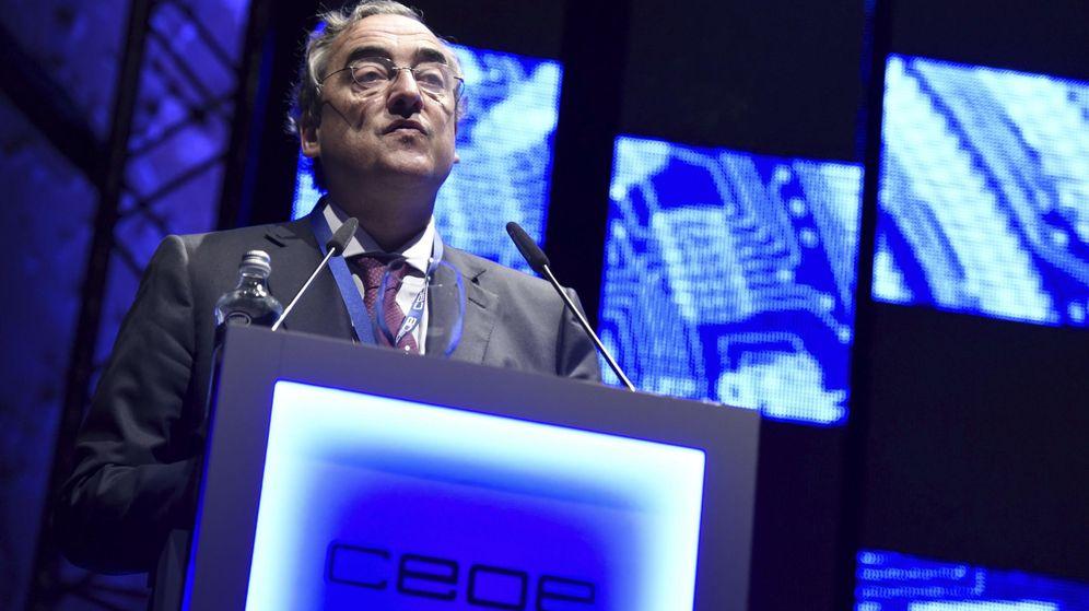 Foto: El presidente de la Confederación Española de Organizaciones Empresariales (CEOE), Juan Rosell. (EFE)