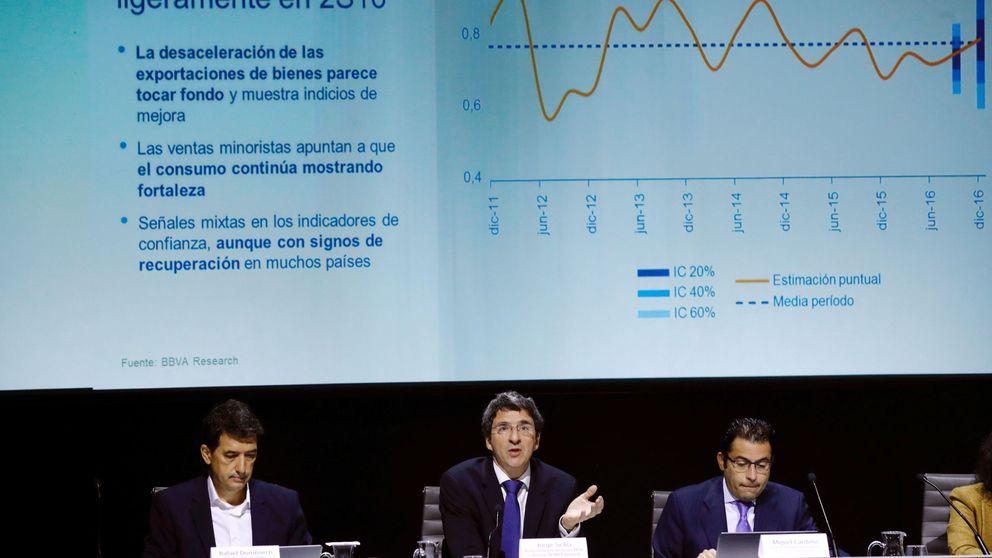 BBVA revisa al alza su previsión de PIB para España: en 2016 (3,3%) y 2017 (2,5%)