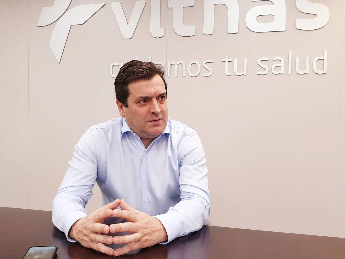 Foto: Pedro Rico, director general de Vithas.