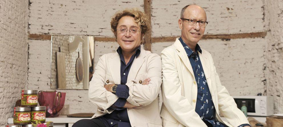 Foto: Los modistos José Víctor Rodríguez Caro y José Luis Medina del Corral (Victorio & Lucchino), en una imagen de archivo (I.C.)
