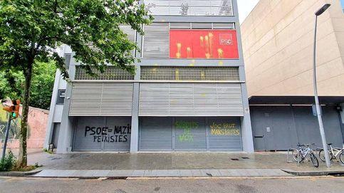 Elecciones 2019, en directo: atacan dos sedes del PSC con pintura amarilla