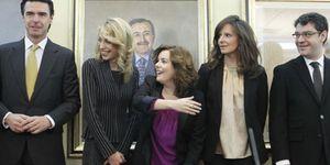 Foto: El 'clan de los sorayos' aumenta su poder con la llegada de la esposa de Álvaro Nadal a Cultura