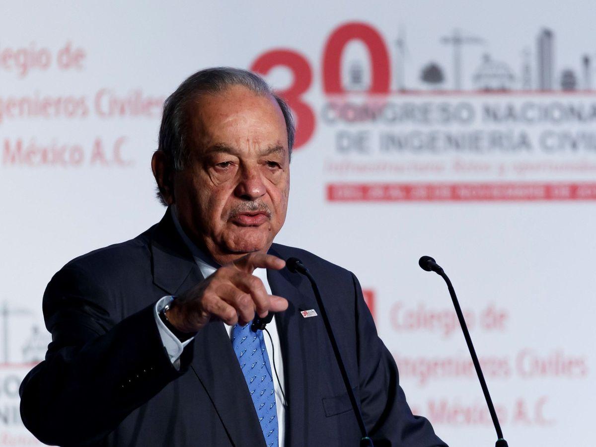 Foto: El multimillonario mexicano Carlos Slim. (EFE)
