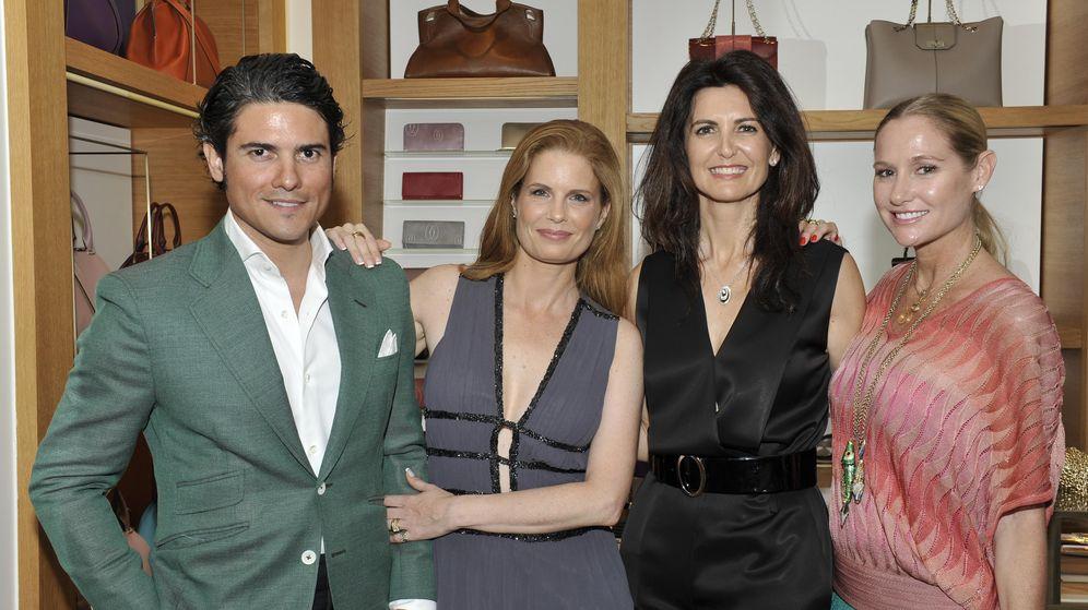 Foto: Julián Porras, Olivia de Borbón, Pilar León y Fiona Ferrer