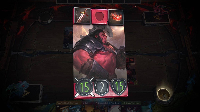 El héroe Axe ya ha llegado a costar más que el propio juego. (Artifact)