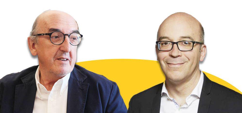 Foto: Jaume Roures y Oriol Soler. (EC)