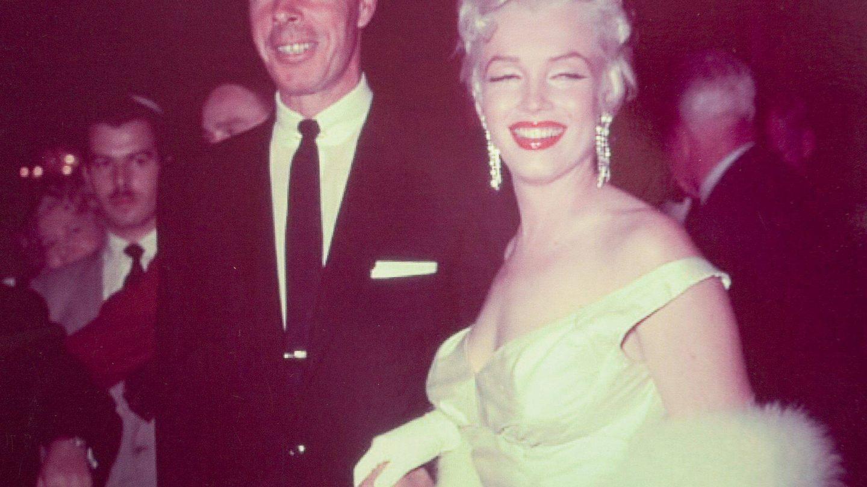 Marilyn junto a Joe DiMaggio, su marido en aquella época. (EFE)