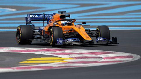 Fórmula 1 en directo: Carlos Sainz, a por su mejor resultado en el GP de Francia