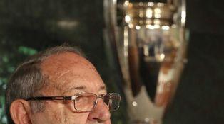 El humor negro de Paco Gento en la presentación de un libro del Real Madrid