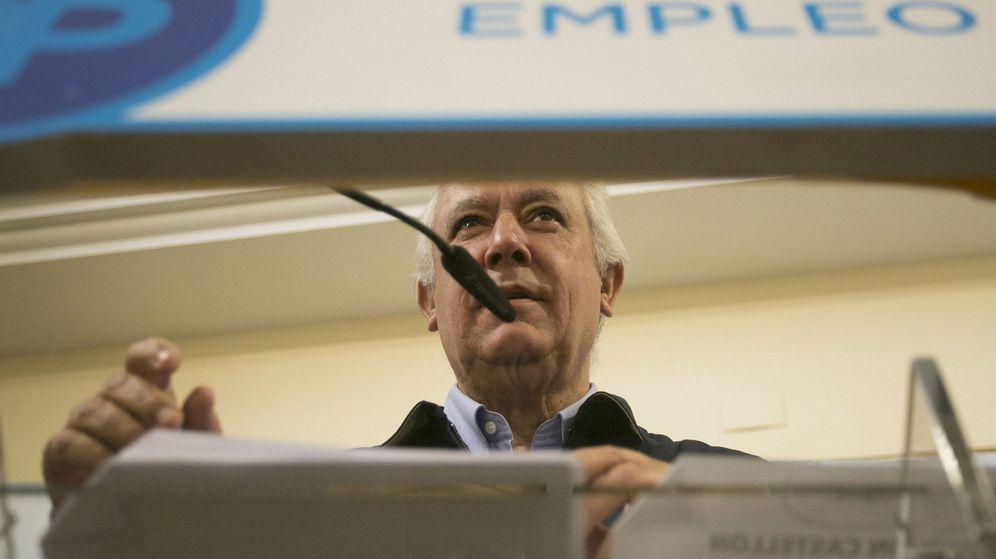 Foto: El vicesecretario de Autonomías y Ayuntamientos de PP, Javier Arenas. (EFE)