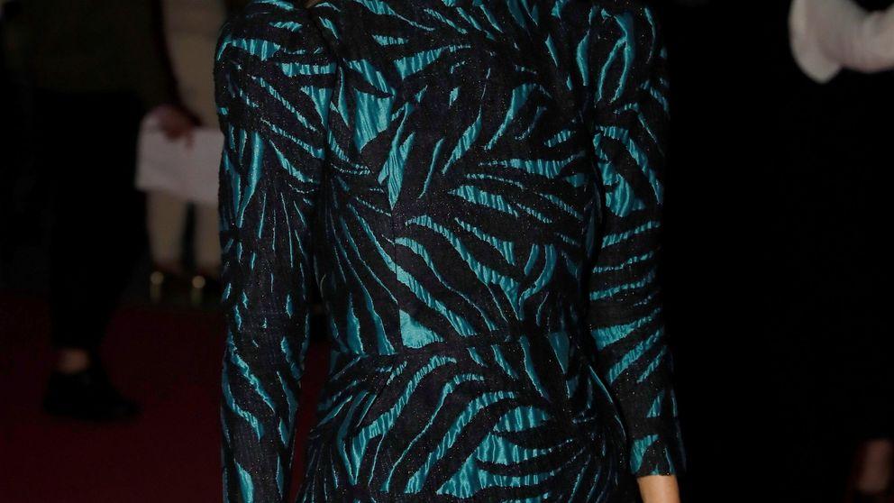 Esta falda y este jersey de Mango son la pareja ideal: el look de María Pombo lo prueba