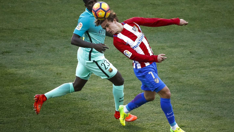 La plantilla del Barcelona da por hecho que Griezmann va a vestir de azulgrana la próxima temporada junto a su amigo Umtiti. (EFE)