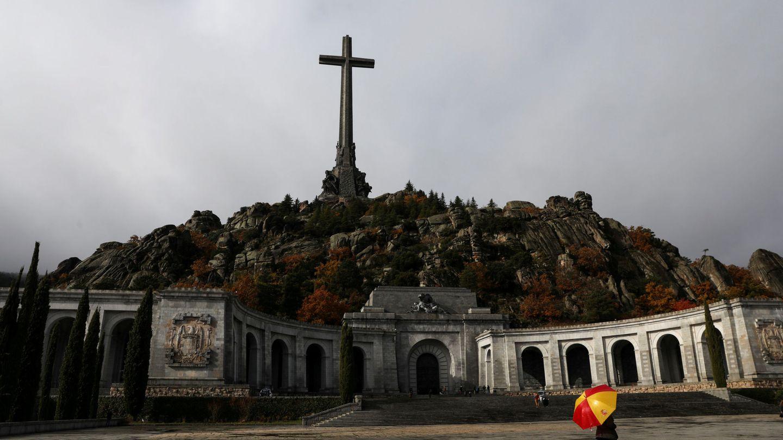 La basílica del Valle de los Caídos, el pasado 20 de noviembre. (Reuters)
