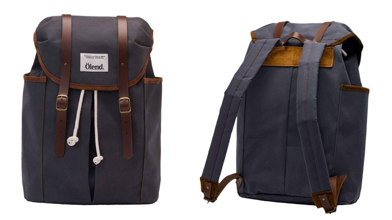 Foto: Estas nuevas mochilas tienen un tejido repelente al agua, forros de algodón 100%, cuero natural, etcétera.