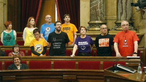 Soberanistas catalanes y la nueva izquierda de Podemos, a la greña por la Diada