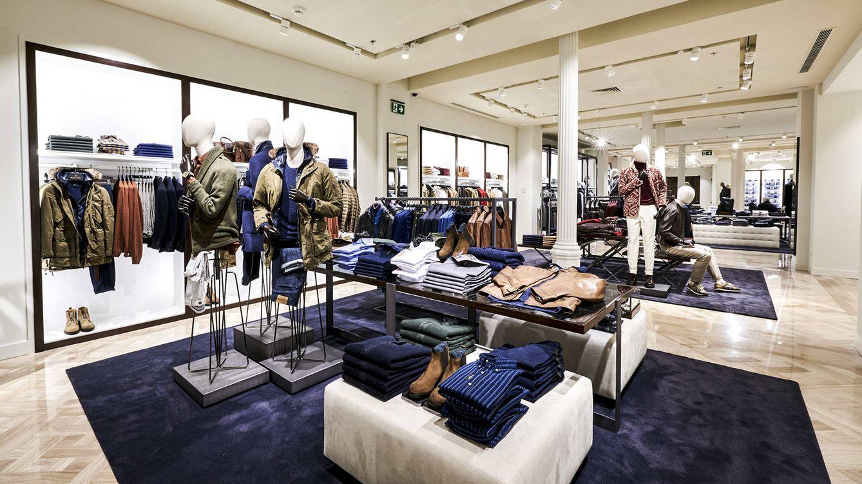 Foto: Imagen de la planta masculina de la nueva tienda.