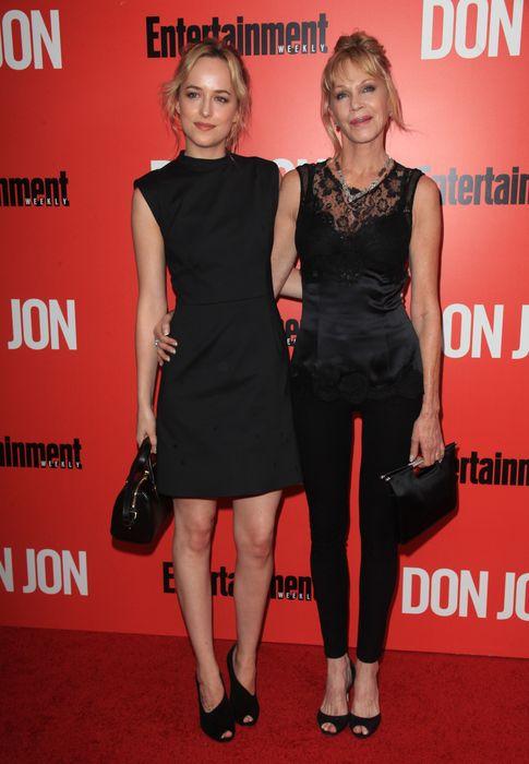 Foto: Dakota Johnson y Melanie Griffith en una imagen de archivo (I.C.)