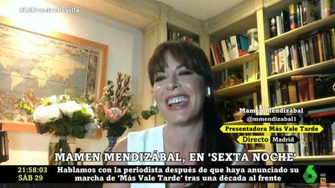 Mamen Mendizábal explica los motivos de su salida de 'Más vale tarde'
