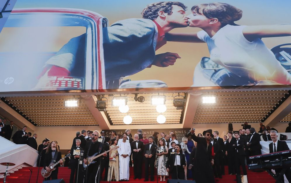 Foto: Ceremonia de clausura del 71 Festival de Cannes. (EFE)