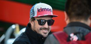 Post de Fernando Alonso y su vuelta a la Fórmula 1, en la orilla y con la caña de pescar echada