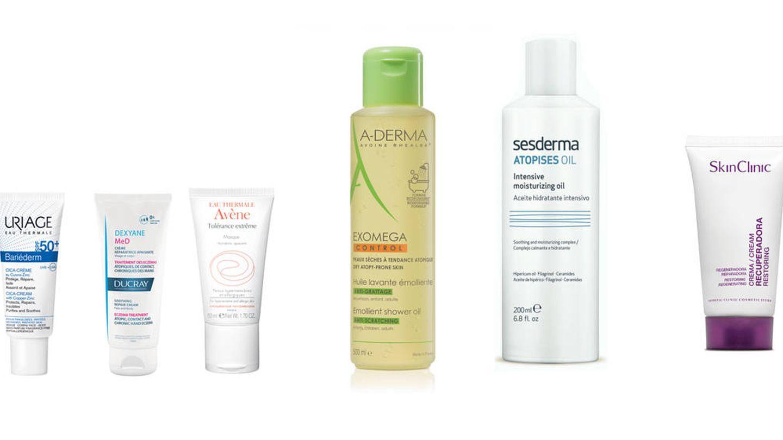 Uriage, Ducray, Avène, A-Derma, Sesderma y Skinclinic.