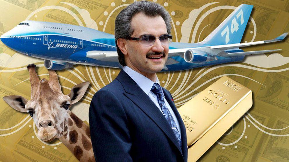 Alwaleed Bin Talal, el príncipe excéntrico: litigios con 'Forbes' y bufones en su corte