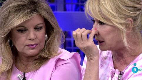 Mila Ximénez, entre lágrimas, firma una tregua con Terelu en 'Sálvame'