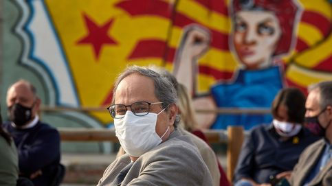 Torra, Puigdemont y Mas denuncia la arbitrariedad de la justicia de España