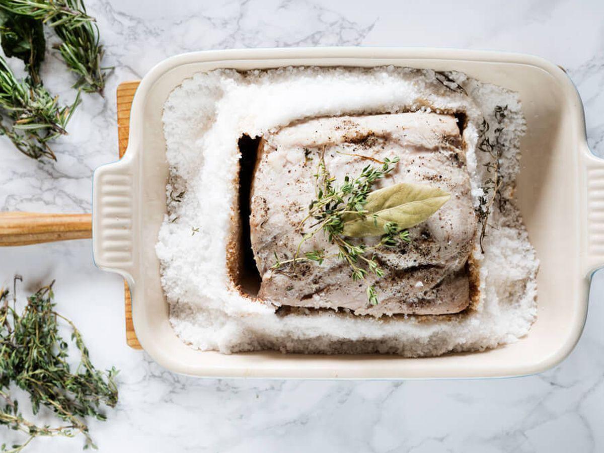 Foto: Lomo de cerdo a la sal. (Snaps Fotografía)