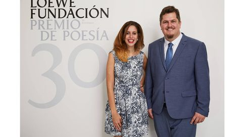 Ben Clark y Luciana Reif recogen el Premio Loewe de Poesía
