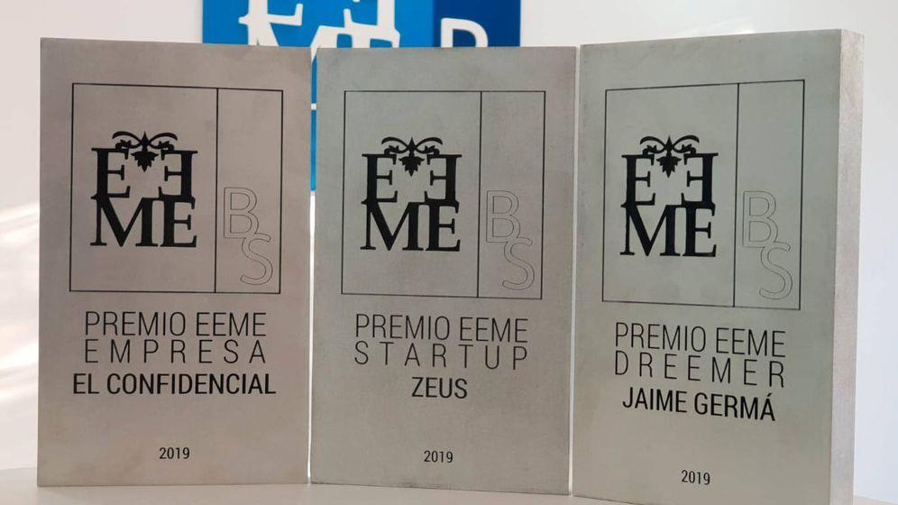Foto: Los premiados EEME.