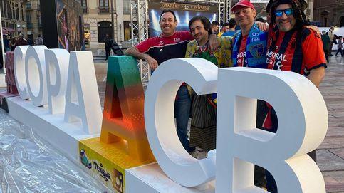 Qué hace en Málaga Iñaki, de la charanga del Baskonia, si su equipo no ha ido a la Copa