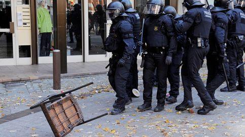 Sindicatos de Mossos protestan ante la Consejería pidiendo ver a Aragonès