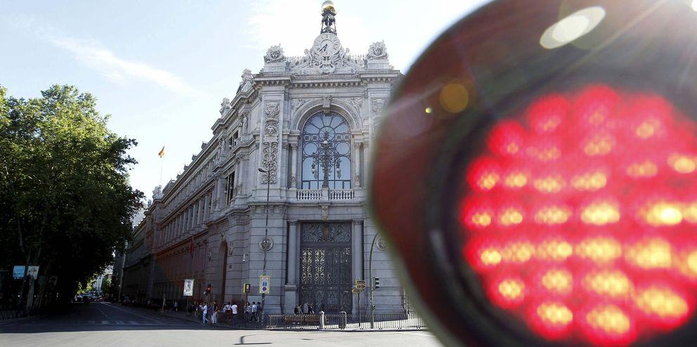 Foto: Fachada de la sede del Banco de España en la plaza de Cibeles. (EFE)