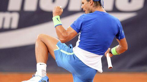 ¡Vamos, hostia pu…! Rafa Nadal lucha contra sí mismo y su discreto servicio