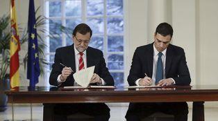 Rajoy y Sánchez ningunean al señor Lakoff