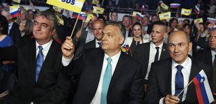 Post de Eslovenia se 'orbaniza': el eje iliberal europeo se afianza (con ayuda del líder húngaro)