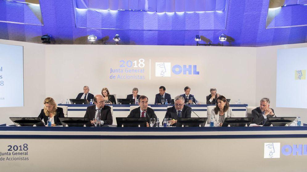 Foto: Imagen de la Junta General de OHL