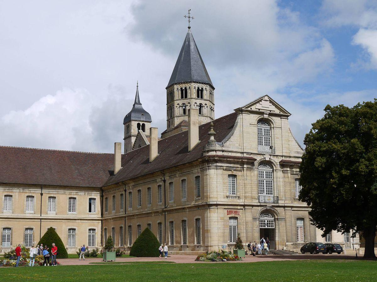 Foto: Abadía de Cluny, en Francia