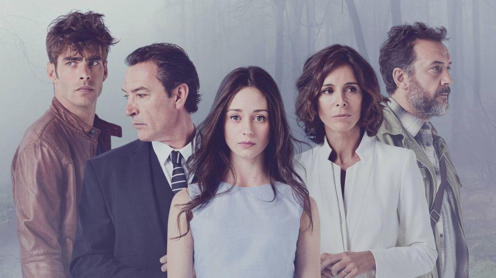 Foto: Imagen promocional de la serie 'La verdad'. (Mediaset)