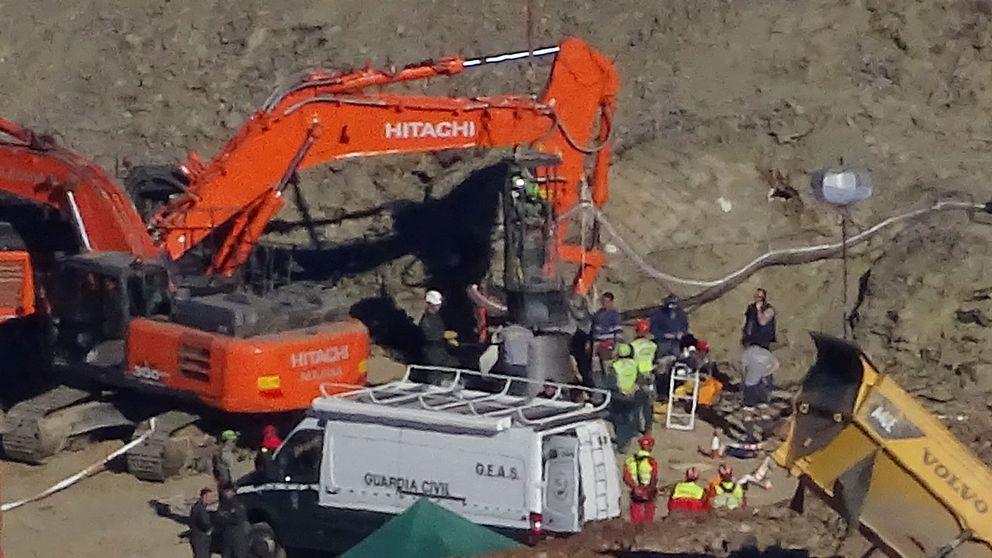 Recta final del rescate de Julen: queda menos para acceder al pozo de Málaga